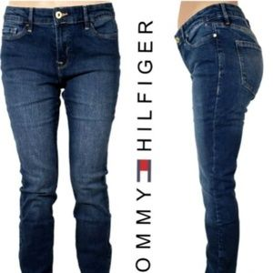 Tommy Hilfiger Mid Rise  Wash Skinny Jeans